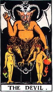 タロットカード「悪魔」正位置